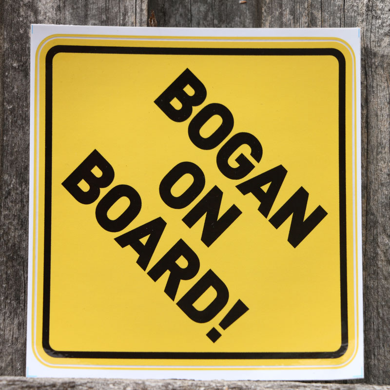 Bogan-On-Board-Sticker