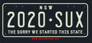 NSW Sticker